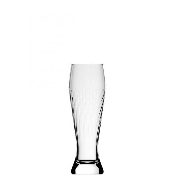 2. Wahl - Weizenbierglas gedreht 0,5L