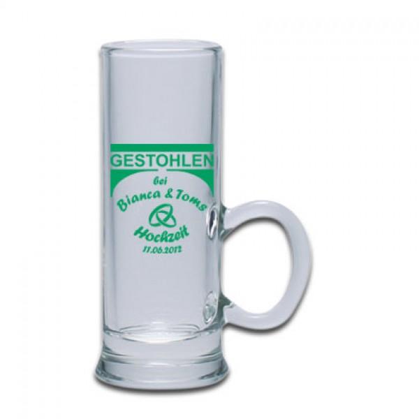 Schnapsglas mit Henkel 6cl bedrucken