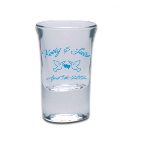 Schnapsglas Hot Shot bedrucken