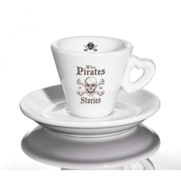 Espressotassen Trieste mit Herzhenkel Nuova Point bedrucken