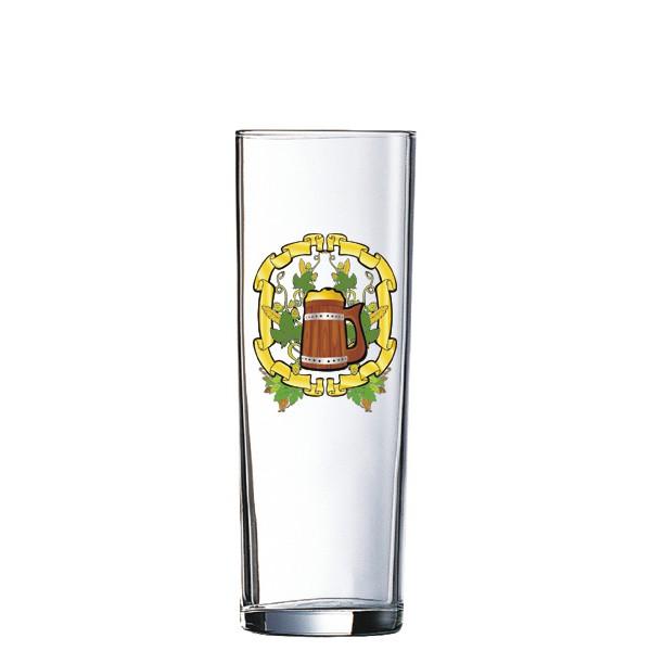 Kölschglas 0,2L /-/ mit Rand bedrucken